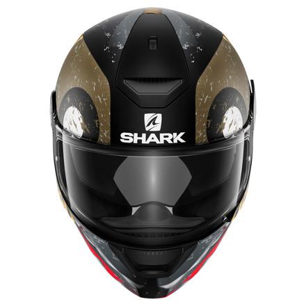 Shark D-Skwal Saurus Mat, Zwart-Goud (3 van 3)
