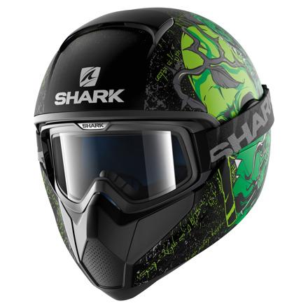Shark Vancore Ashtan Mat, Zwart-Groen (1 van 3)