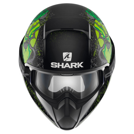 Shark Vancore Ashtan Mat, Zwart-Groen (3 van 3)