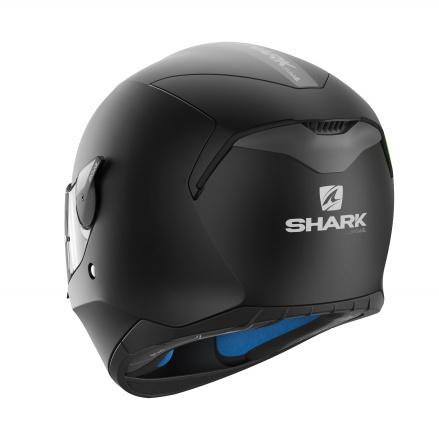Shark D-Skwal Blank Mat, Zwart-Mat zwart (3 van 3)