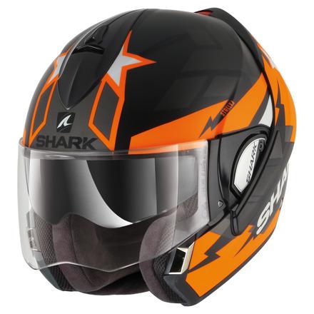 Evoline 3 Strelka Mat - Zwart-Oranje-Antraciet