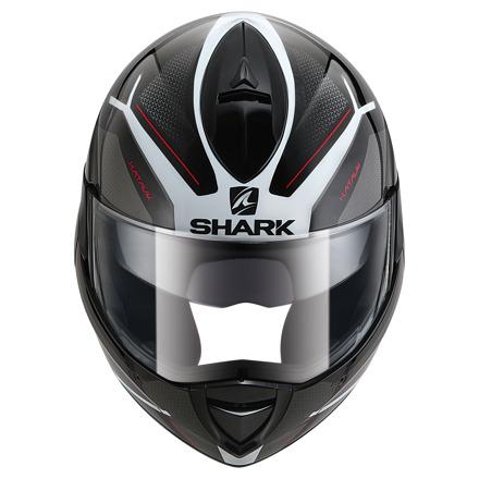 Shark Evoline 3 Hataum, Zwart-Wit-Rood (4 van 4)