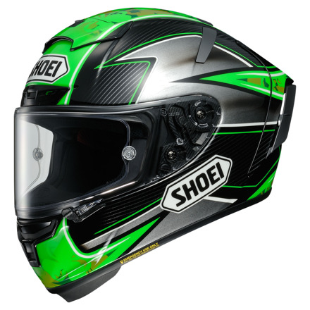 Shoei X-Spirit III Laverty TC-4, Zwart-Groen-Antraciet (1 van 1)