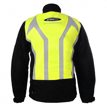 GC Bikewear Stretch Reflectie Vest, Fluor (2 van 2)