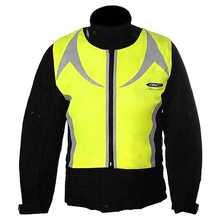 GC Bikewear Stretch Reflectie Vest, Fluor (1 van 2)
