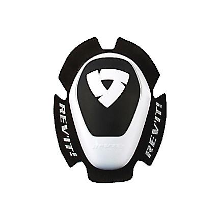 REV'IT! Knee Slider Dual Comp Type A, Wit-Zwart (1 van 1)