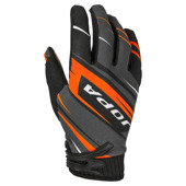 Gloves MX-7 - Zwart-Oranje