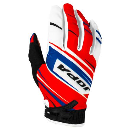 Gloves MX-7 - Rood-Blauw