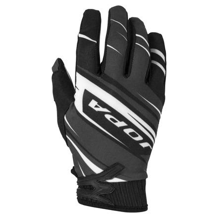 Gloves MX-7 Kids - Zwart-Wit
