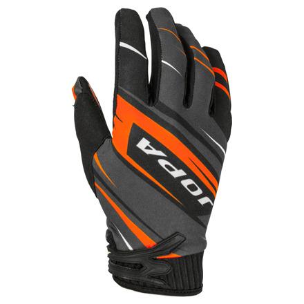 Gloves MX-7 Kids - Zwart-Oranje
