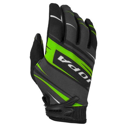 Gloves MX-7 Kids - Zwart-Groen