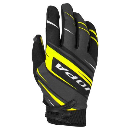 Gloves MX-7 Kids - Zwart-Geel