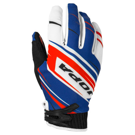 Gloves MX-7 Kids - Blauw-Rood
