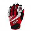 MX-4 Crosshandschoenen - Zwart-Rood