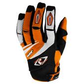 MX-4 Gloves - Zwart-Oranje