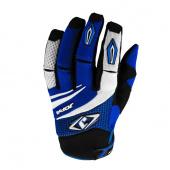 MX-4 Gloves - Zwart-Blauw