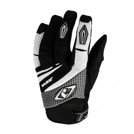 MX-4 Kids Crosshandschoenen - Zwart-Grijs