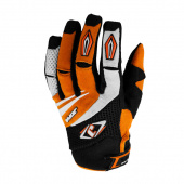 MX-4 Gloves Kids - Zwart-Oranje