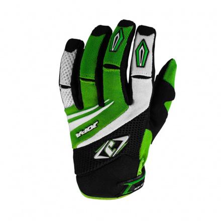 MX-4 Kids Crosshandschoenen - Zwart-Groen