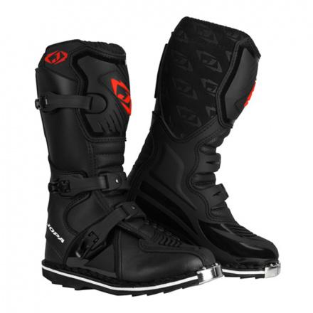 MX-Boots JS-10 Kids - Zwart