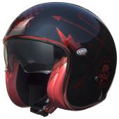 Vintage NX Red Chromed - Zwart-Rood