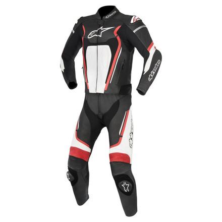 Motegi V2 2pc Suit - Zwart-Wit-Rood