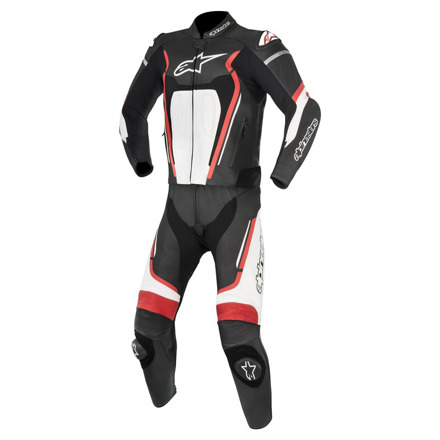 Alpinestars Motegi V2 2pc Suit, Zwart-Wit-Rood (1 van 1)
