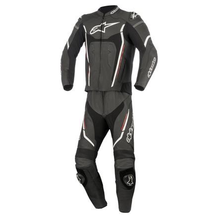 Alpinestars Motegi V2 2pc Suit, Zwart-Rood (1 van 1)