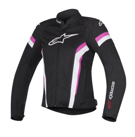 Alpinestars T-GP Plus R V2 Air (Stella/Ladies), Zwart-Wit-Roze (1 van 1)