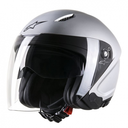 Alpinestars Novus Solid Helmet, Zilver (1 van 1)