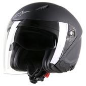 Novus Solid Helmet - Zwart