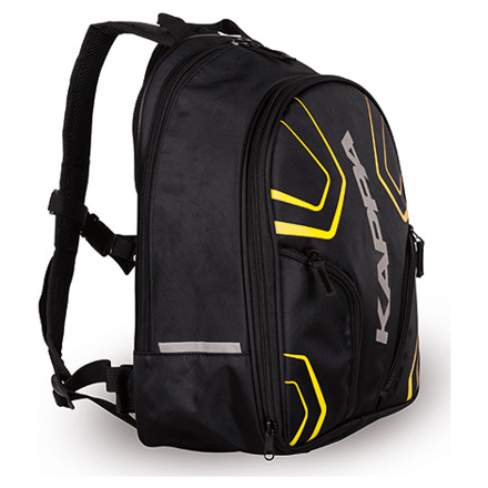 Backpack 16/20 Ltr LH210YL - Zwart-Fluor