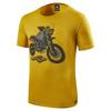 T-shirt Quin - Geel