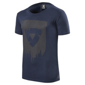 T-shirt Connor - Blauw