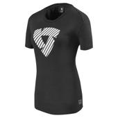 T-shirt Louise (Ladies) - Zwart