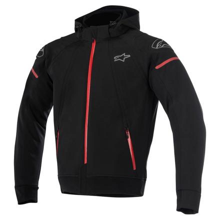 Alpinestars Sektor Tech Hoodie, Zwart-Rood (1 van 1)