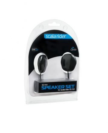 Cardo Speakerset  32mm (Q-1,Q-3,Qz,G-9x,Packtalk,Smartpack,Freecom), N.v.t. (1 van 1)