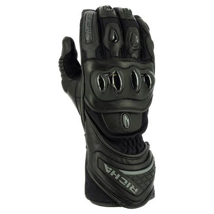 Richa Warrior Evo Handschoenen, Zwart (1 van 2)