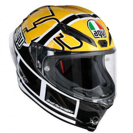AGV Corsa R Rossi Goodwood (Pinlock), Zwart-Geel (1 van 4)