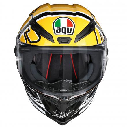 AGV Corsa R Rossi Goodwood (Pinlock), Zwart-Geel (2 van 4)
