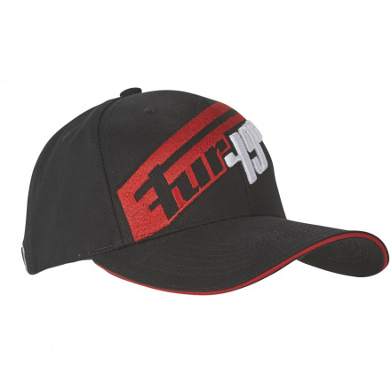 Furygan Cap LAP, Zwart-Rood (1 van 1)