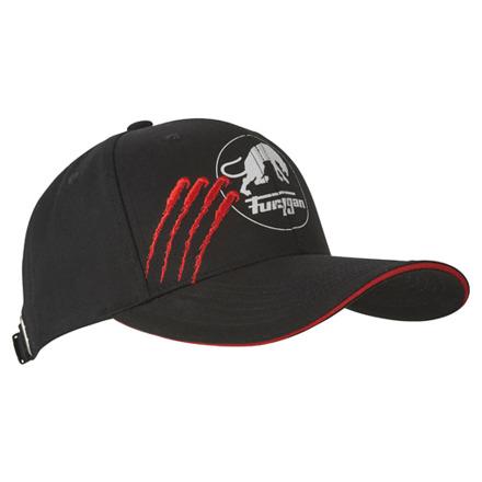 Furygan Cap Claw EVO, Zwart-Rood (1 van 2)