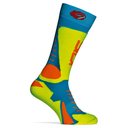 Sidi Tony Socks Pink Fluo (274) S/M (38-42) - Blauw