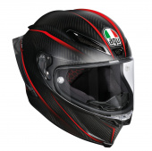 Pista GP R Granpremio (Pinlock) - Carbon-Rood