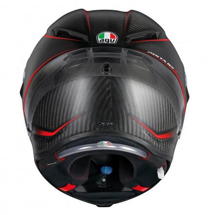 AGV Pista GP R Granpremio (Pinlock), Carbon-Rood (4 van 6)