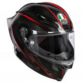Pista GP R Granpremio (Pinlock) - Carbon-Rood-Groen