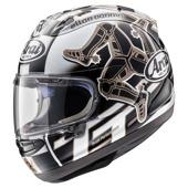 RX-7 V Isle of Man TT 2017 Helm - Zwart-Grijs