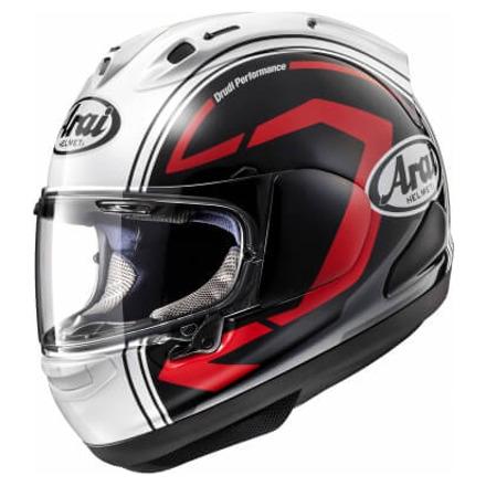 Arai RX-7 V Statement Black Helm, Zwart-Wit-Rood (2 van 2)