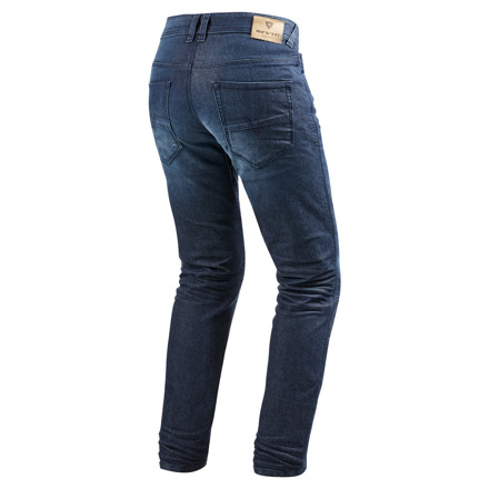 REV'IT! Jeans Vendome 2, Donkerblauw (2 van 2)