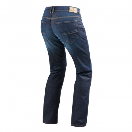 REV'IT! Jeans Philly 2, Donkerblauw (2 van 2)